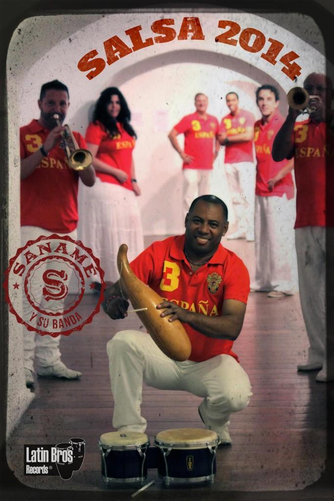 Saname y su banda 2014